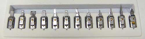 Variety of Pelikan Graphos Nibs