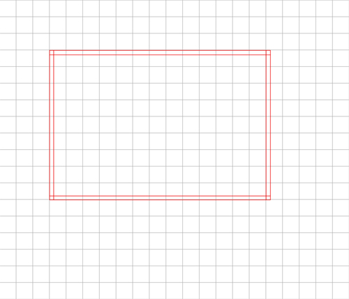 Step 1: Drawing the border box